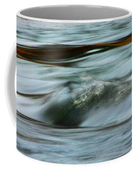 Water Coffee Mug featuring the photograph Ribbon Of Passion by Donna Blackhall