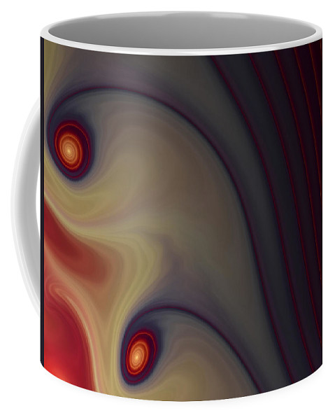 Apophysis Coffee Mug featuring the digital art Rich In Color by Amorina Ashton