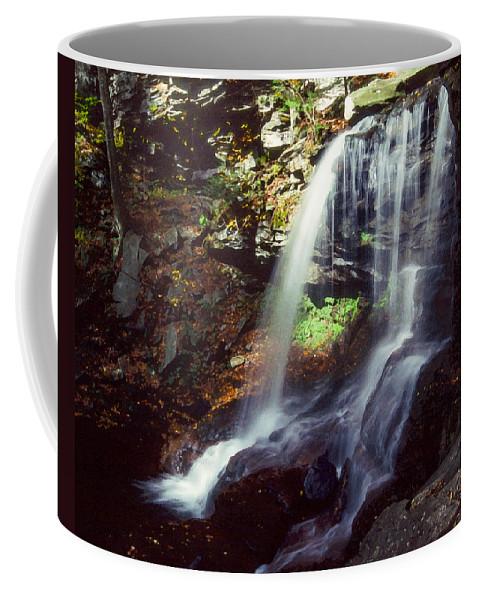 Ricketts Glen State Park Coffee Mug featuring the photograph Ricketts Glen Falls 029 by Scott McAllister