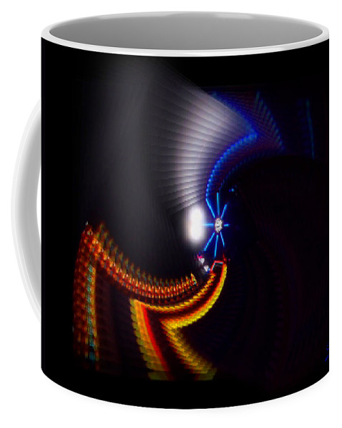 Chaos Coffee Mug featuring the photograph Ride by Charles Stuart