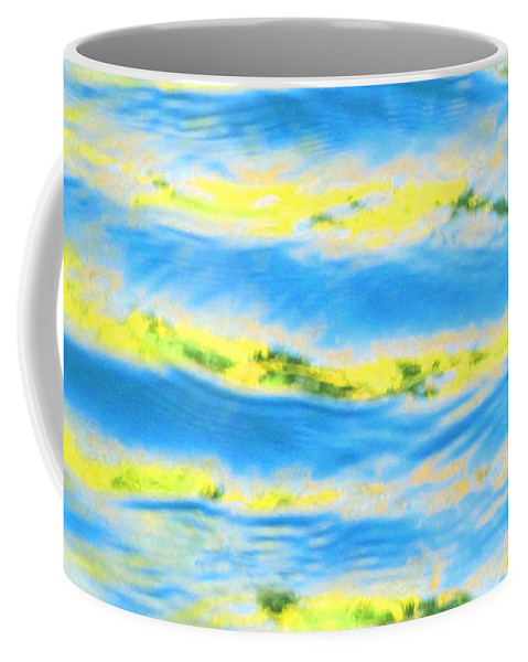 Calm Coffee Mug featuring the photograph Riding A Wave by Sybil Staples
