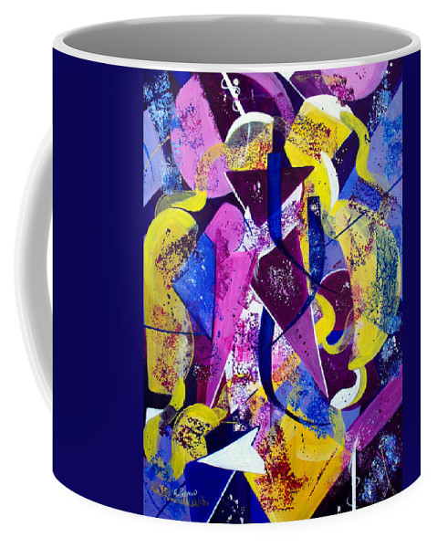 ruth Palmer Coffee Mug featuring the painting Right Of Passage by Ruth Palmer