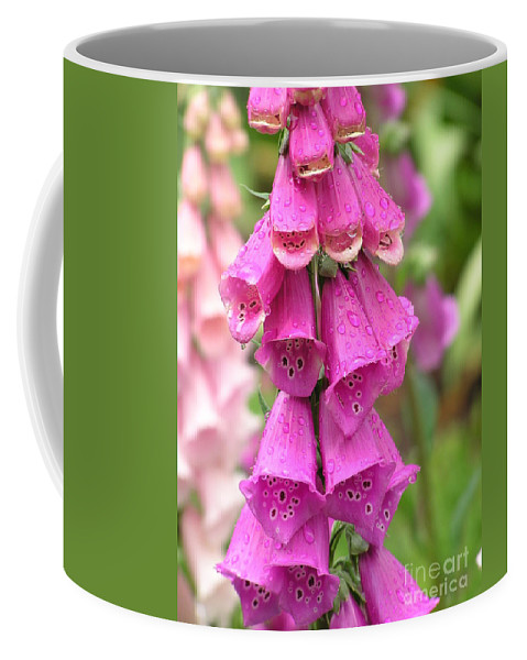 Fox Glove Coffee Mug featuring the photograph Ringing Bells by Louise Magno