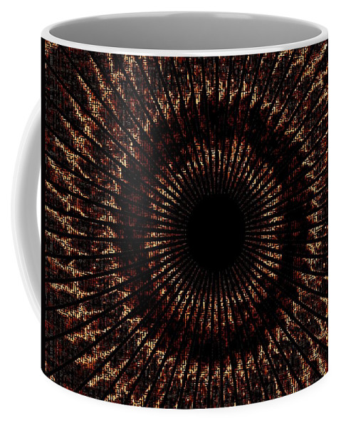 Fire Coffee Mug featuring the digital art Rings Of Fire by Charleen Treasures