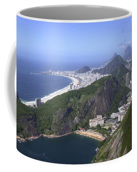 Panorama Coffee Mug featuring the photograph Rio De Janiero Morning by Sandra Bronstein