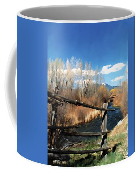 River Coffee Mug featuring the photograph Rio Pueblo by Kurt Van Wagner