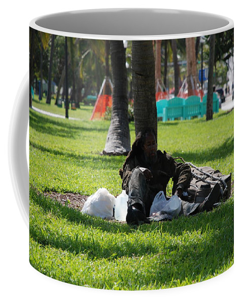 Urban Coffee Mug featuring the photograph Rip Van Winkle by Rob Hans