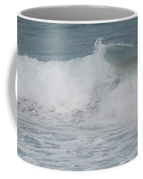 White Coffee Mug featuring the photograph Ripple by Rob Hans