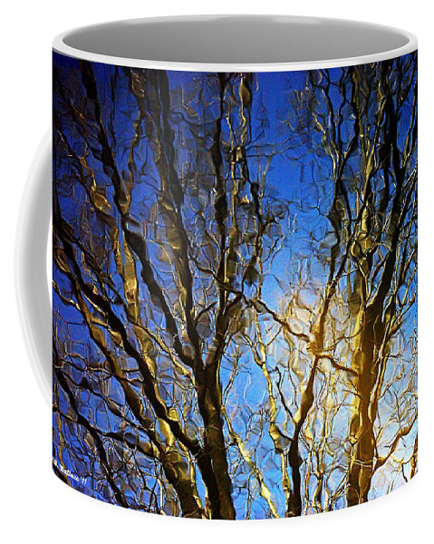 2d Coffee Mug featuring the photograph Ripple Tree by Brian Wallace