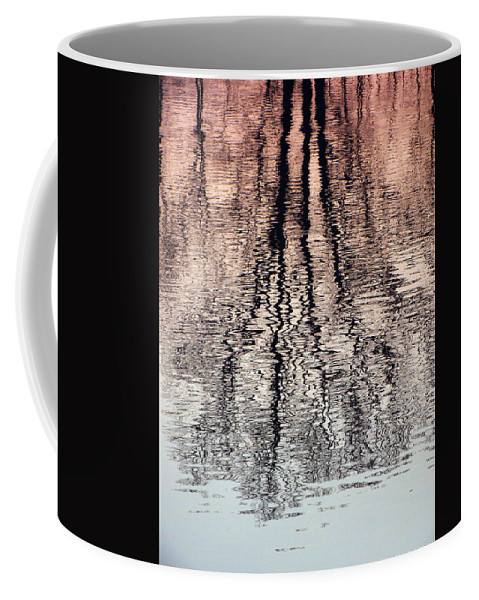 Waves Coffee Mug featuring the photograph Rippled Reflection by J R  Seymour