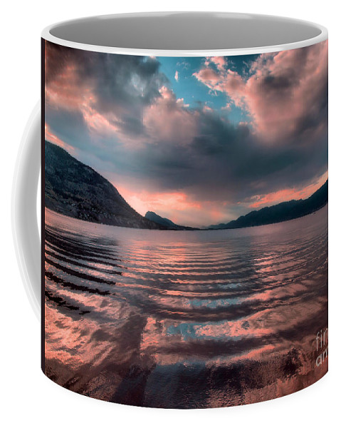 Lake Coffee Mug featuring the photograph Ripples And Reflections by Tara Turner