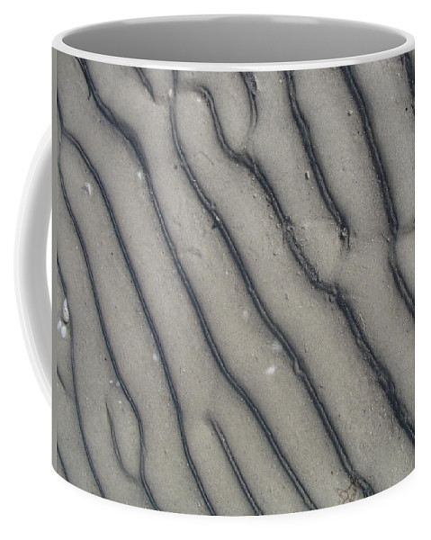 Sand Coffee Mug featuring the photograph Ripples In The Sand II by Christiane Schulze Art And Photography