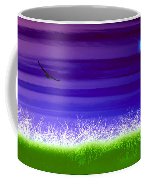 Landscape Coffee Mug featuring the photograph Rise Above by Holly Kempe