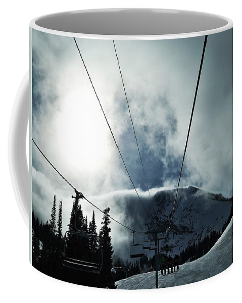 Landscape Coffee Mug featuring the photograph Rise To The Sun by Michael Cuozzo