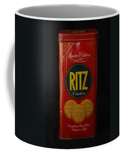 Ritz Coffee Mug featuring the photograph Ritz Crackers by Rob Hans