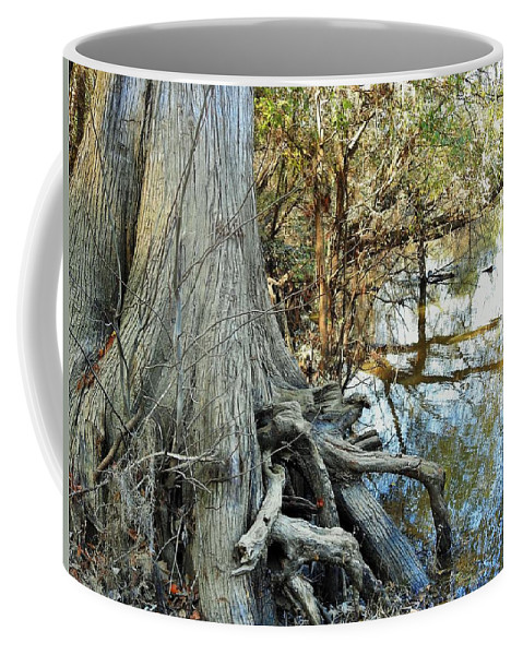 River Coffee Mug featuring the photograph River Art by Jan Gelders