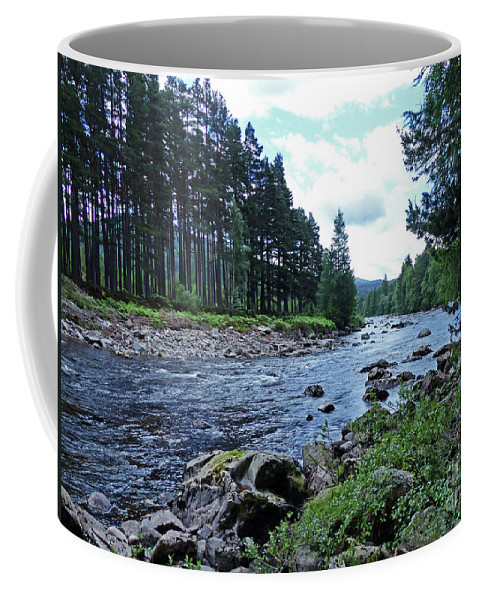 River Dee Coffee Mug featuring the photograph River Dee In Summer by Phil Banks