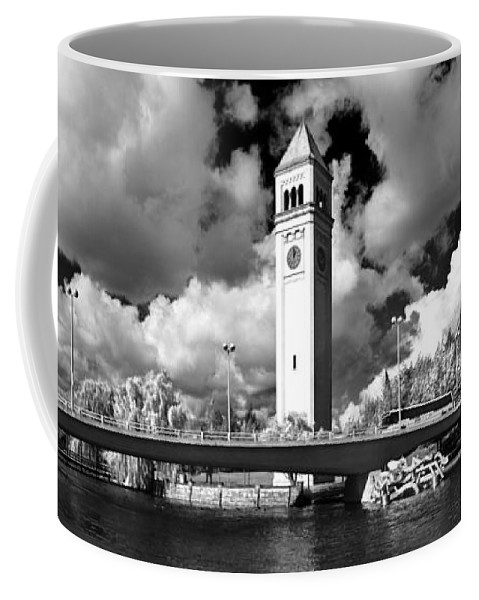 Landscape Coffee Mug featuring the photograph River Front Park Spokane by Lee Santa