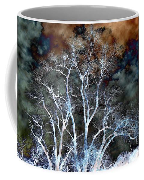 California Scenes Coffee Mug featuring the photograph River Oak Dream by Norman Andrus