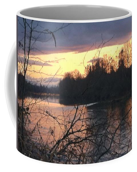 River Coffee Mug featuring the photograph River by Shari Chavira