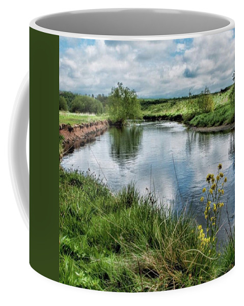 Nature_perfection Coffee Mug featuring the photograph River Tame, Rspb Middleton, North by John Edwards