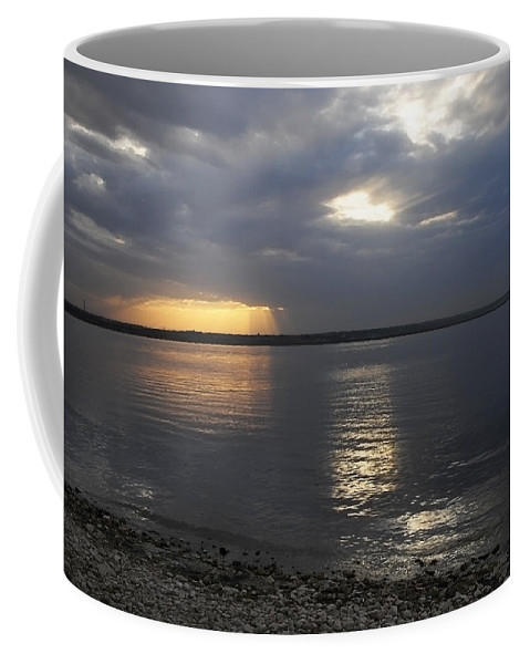 Art Coffee Mug featuring the photograph River Volga1 by Svetlana Sewell