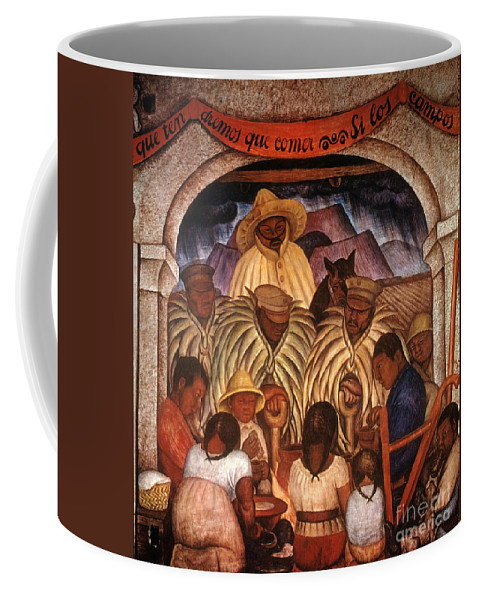 20th Century Coffee Mug featuring the photograph Rivera: Rain by Granger