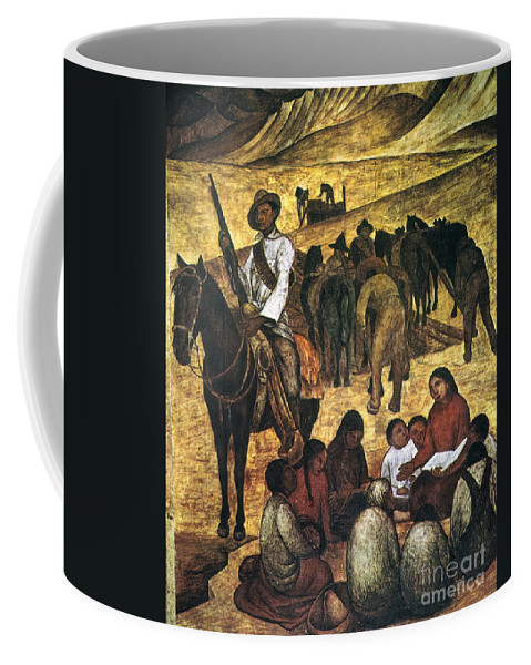Agricultural Coffee Mug featuring the photograph Rivera: Schoolteacher by Granger