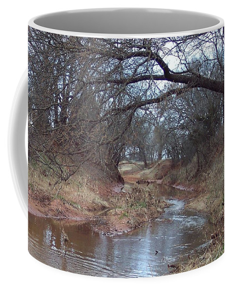 Landscapes Coffee Mug featuring the photograph Rivers Bend by Shari Chavira