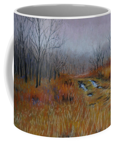 Landscape Coffee Mug featuring the painting Road Of Hope by Susan Jenkins