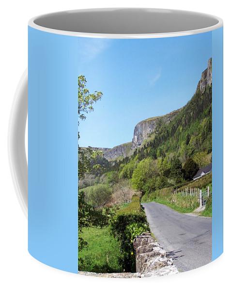 Irish Coffee Mug featuring the photograph Road To Benbulben County Leitrim Ireland by Teresa Mucha