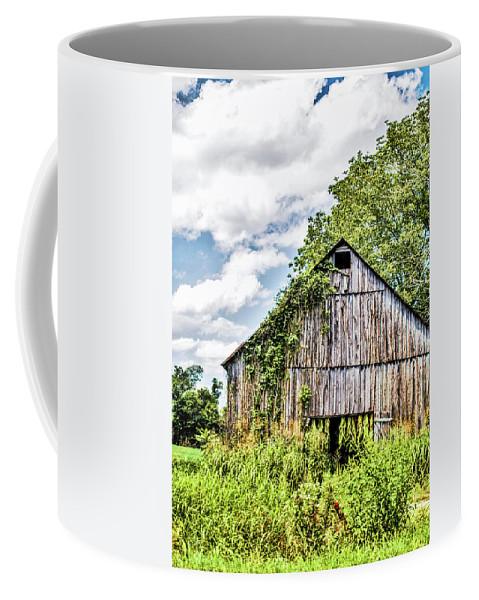 Barn Coffee Mug featuring the photograph Road To Linton by Chad Fuller