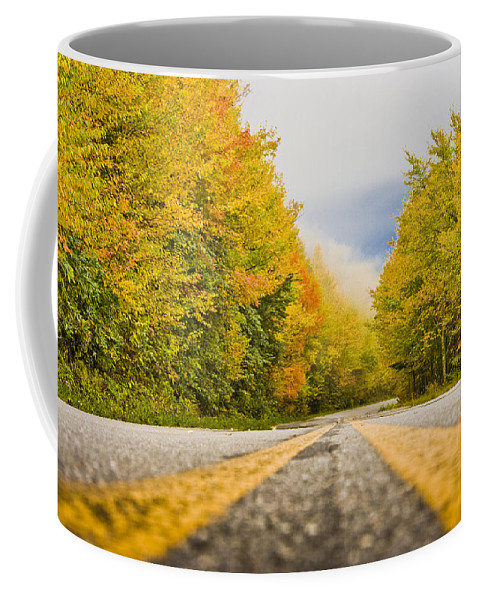 Road Coffee Mug featuring the photograph Road To Mt. Mitchell by Ches Black