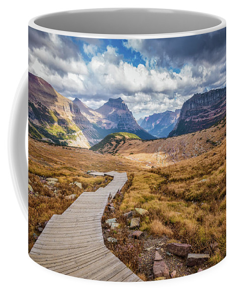 Landscape Coffee Mug featuring the photograph Road To Nowhere by Jason Dodd