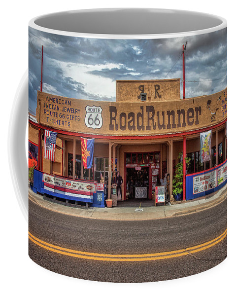66 Coffee Mug featuring the photograph Roadrunner by Diana Powell