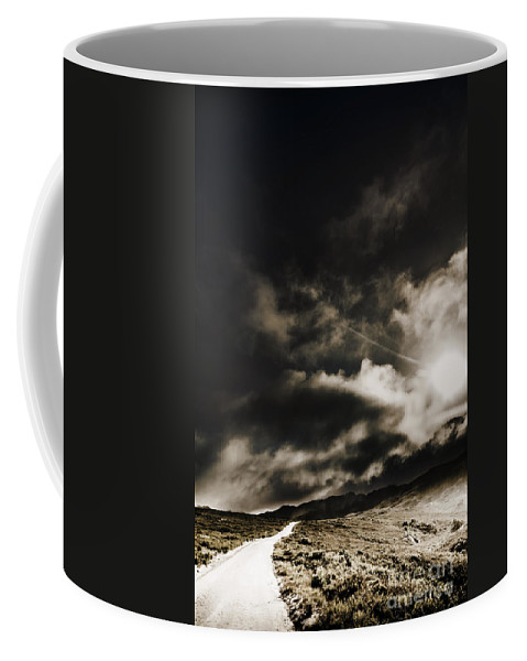 Atmospheric Coffee Mug featuring the photograph Roads Of Atmosphere by Jorgo Photography - Wall Art Gallery