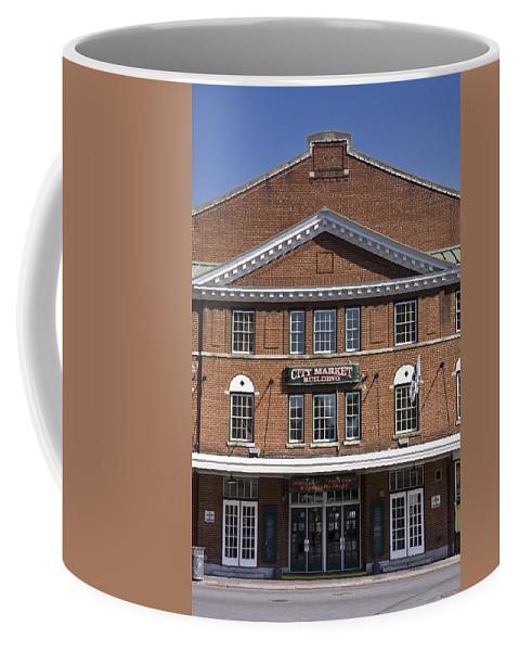 Roanoke Coffee Mug featuring the photograph Roanoke City Market Building by Teresa Mucha