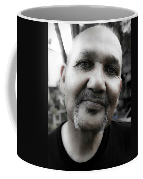 Portrait Coffee Mug featuring the photograph Robert Carter by Lee Santa