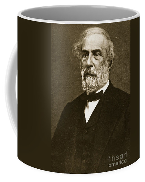 Lee Coffee Mug featuring the photograph Robert Edward Lee by American School