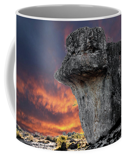 Rock Coffee Mug featuring the photograph Rock Wallpaper by Eduardo Acero