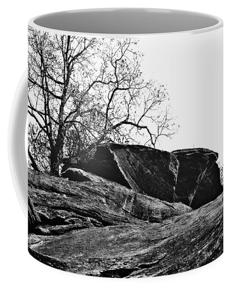 Landscape Coffee Mug featuring the photograph Rock Wave by Steve Karol
