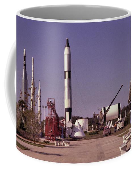 Rocket Coffee Mug featuring the photograph Rocket Garden by Richard Rizzo