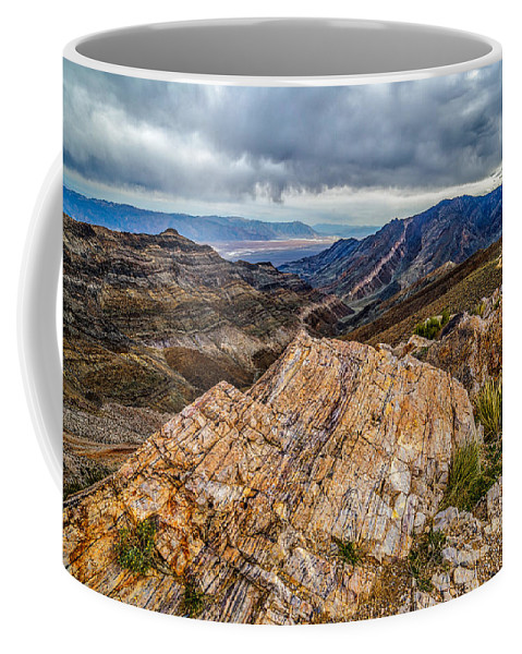 Aguereberry Point Coffee Mug featuring the photograph Rockline by Peter Tellone
