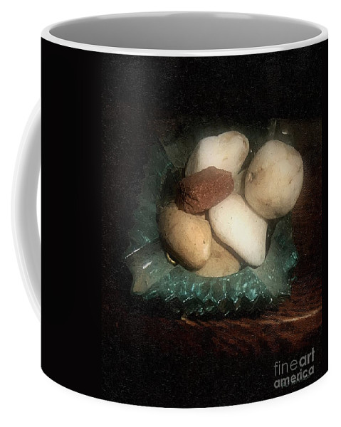 Ashtray Coffee Mug featuring the painting Rocks And Dust by RC DeWinter