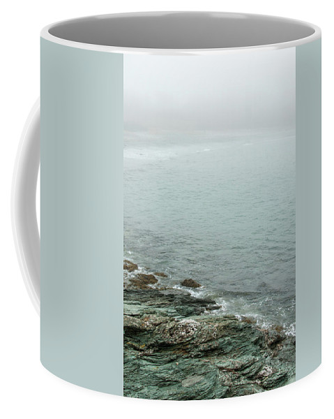 Water Coffee Mug featuring the digital art Rocks by Marc Bouchet