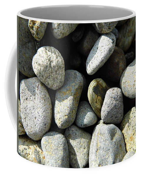 Rock Coffee Mug featuring the digital art Rocks by Palzattila
