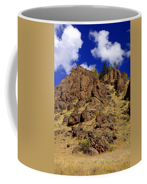 Colorado Coffee Mug featuring the photograph Rocky Butte by Marty Koch