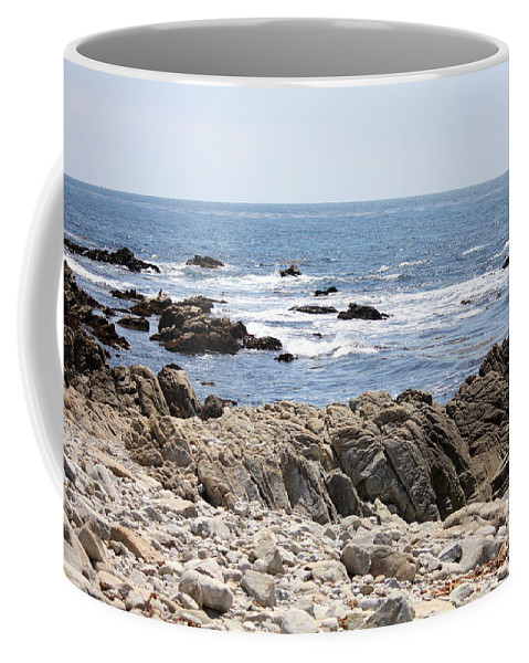 California Coffee Mug featuring the photograph Rocky California Coastline by Carol Groenen