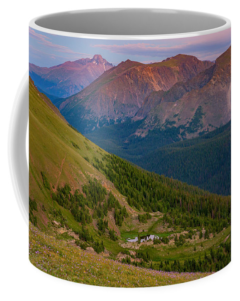 Rocky Mountain National Park Coffee Mug featuring the photograph Rocky Mountain Wilderness by Darren White