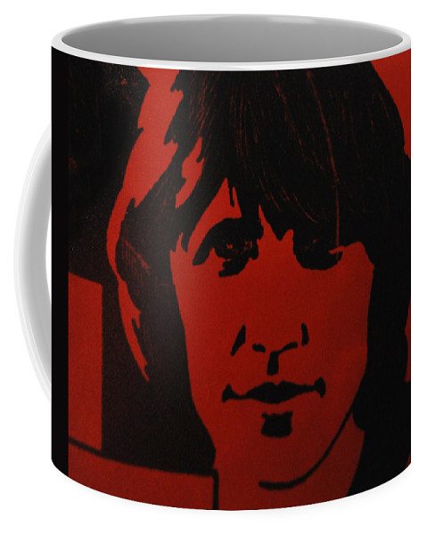 Abstract Coffee Mug featuring the photograph Roger Waters by Rob Hans